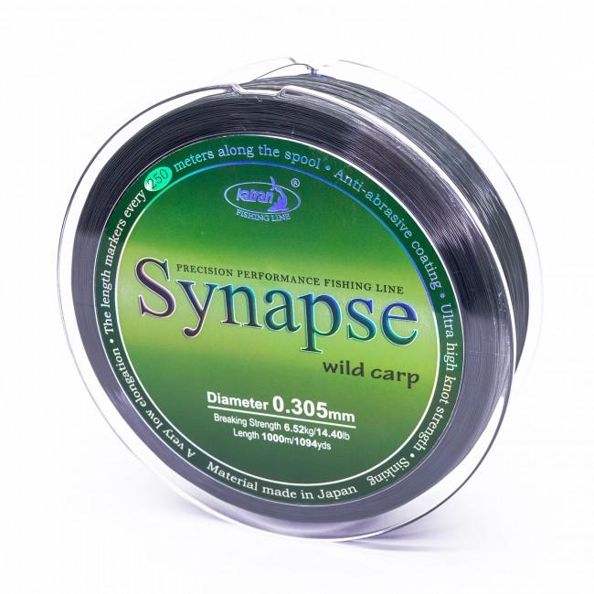 Монофилно основно влакно KATRAN SYNAPSE Wild Carp | www.CARPMOJO.com