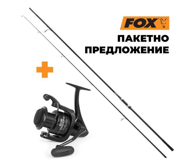 Въдица + Макара FOX EOS, различни варианти | www.CARPMOJO.com