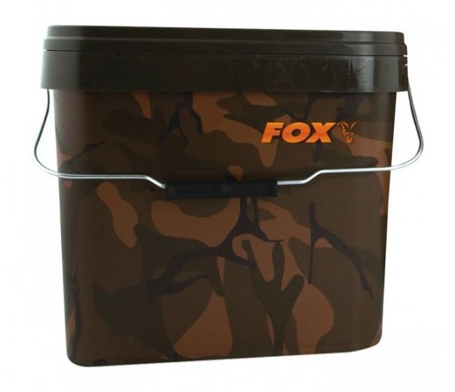 Кофа FOX Camo Bucket 10 литра | www.CARPMOJO.com
