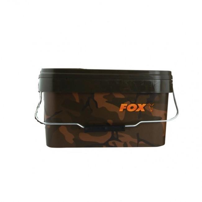 Кофа FOX Camo Bucket 5 литра | www.CARPMOJO.com