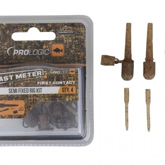 Комплект клипсове Prologic Mimicry Semi Fixed Rig Kit | www.CARPMOJO.com