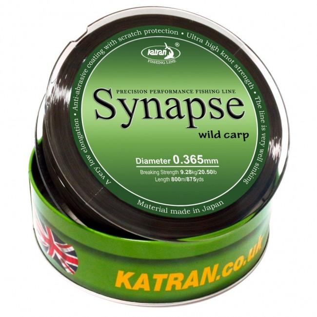 Монофилно основно влакно KATRAN SYNAPSE Wild Carp