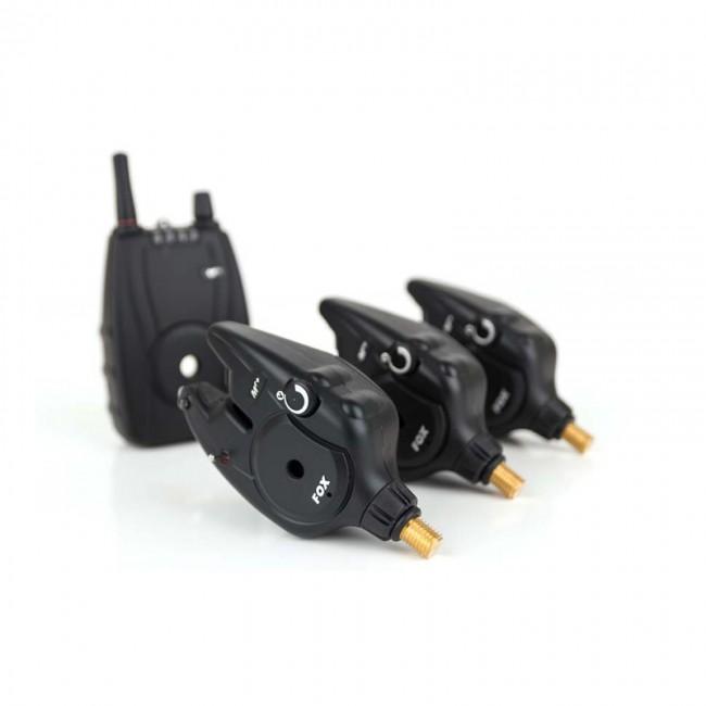 Сигнализатори 3+1 FOX MICRON MR+ 3 Rod Set | www.CARPMOJO.com