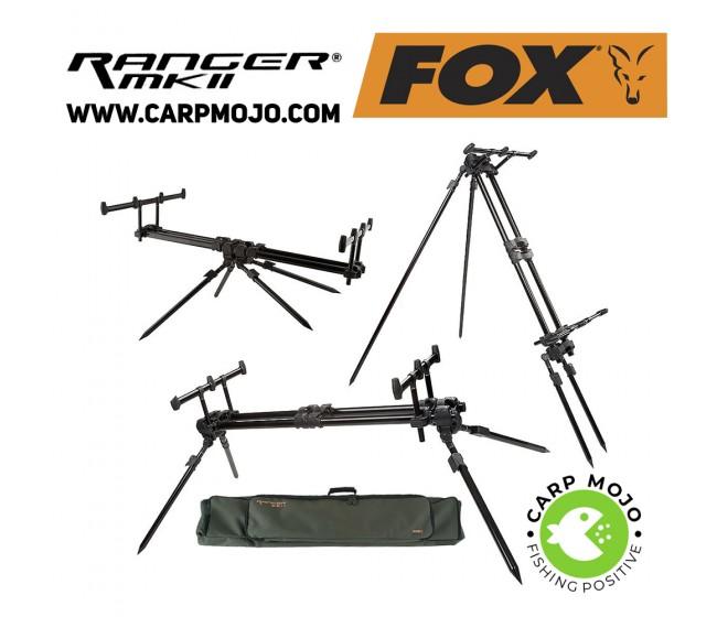 Шаранджийска стойка FOX RANGER MK2 за 3 въдици   www.CARPMOJO.com