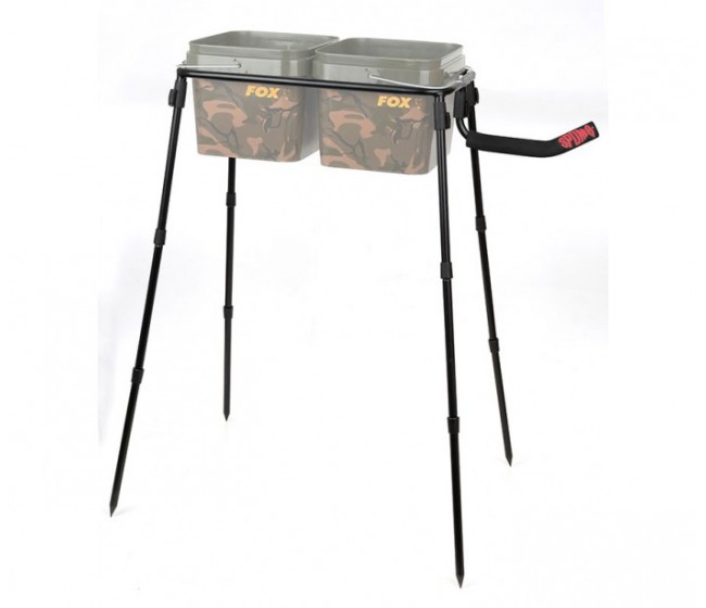 Стойка за кофа - двойна SPOMB DOUBLE BUCKET STAND KIT   www.CARPMOJO.com
