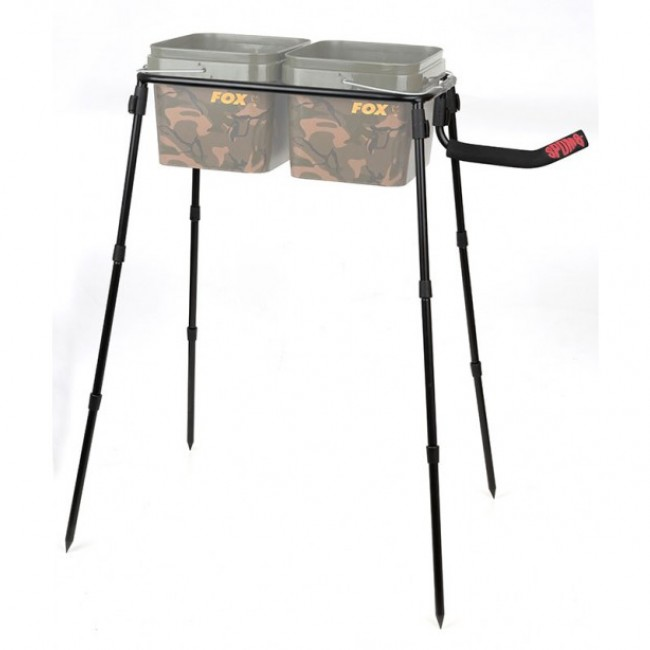 Стойка за кофа - двойна SPOMB DOUBLE BUCKET STAND KIT | www.CARPMOJO.com