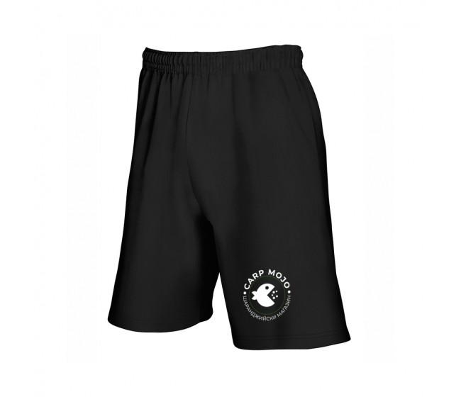 Черна къси панталони CARP MOJO | www.CARPMOJO.com