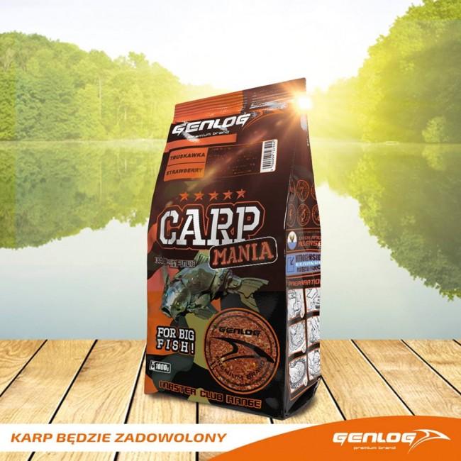 Захранка GENLOG Carp Mania - 1 kg | www.CARPMOJO.com