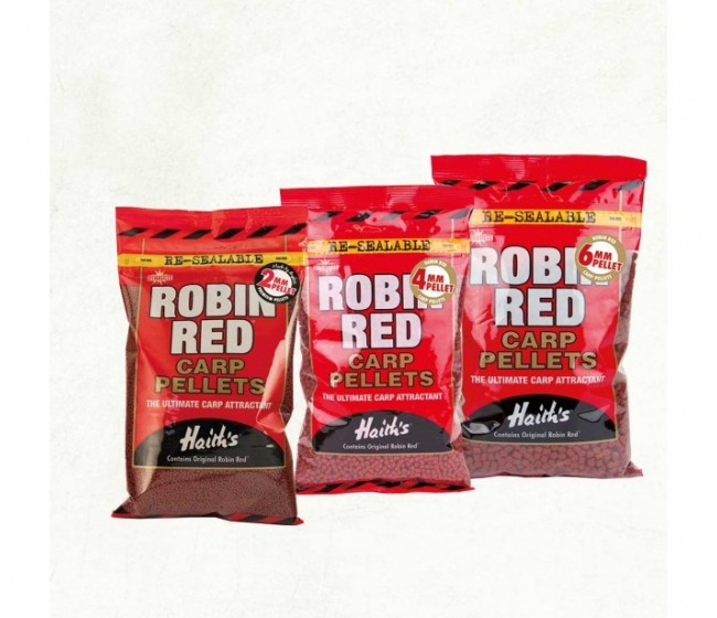 Пелети DYNAMITE Robin Red Carp Pellets 900 g | www.CARPMOJO.com