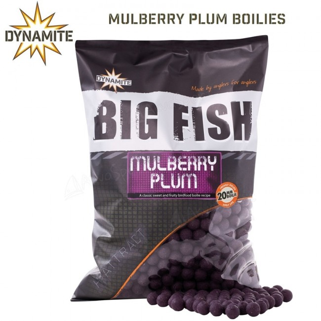 Протеинови топчета DYNAMITE Baits Mulberry Plum 1 kg | www.CARPMOJO.com