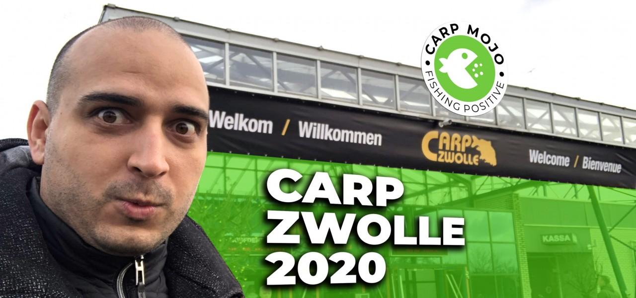 Видео от Carp Zwolle 2020 - най-голямото шаранджийско изложение в Европа и света!