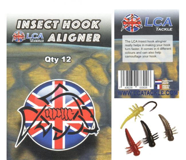 Алайнери за кука LCAInsect Hook aligners, 12 броя   www.CARPMOJO.com