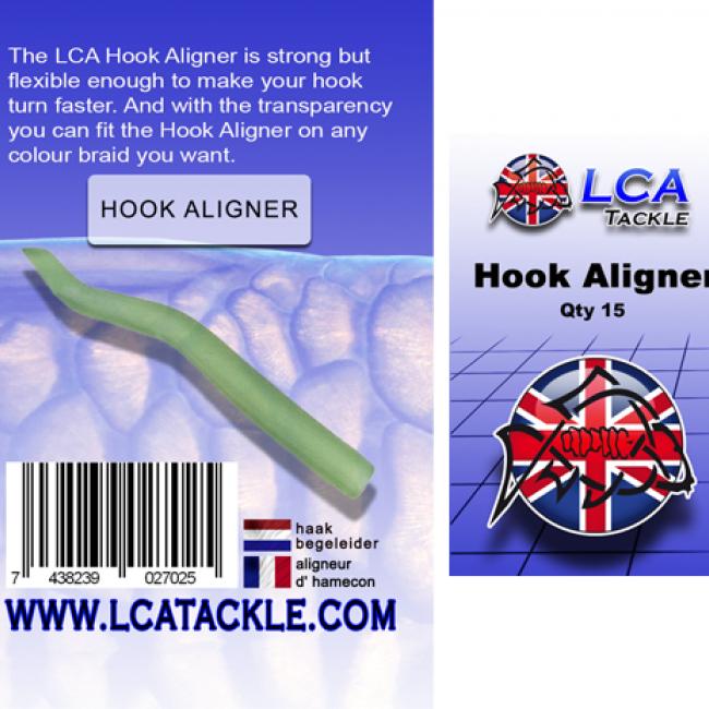 Алайнери LCA, 15 броя, прозрачно зелени | www.CARPMOJO.com