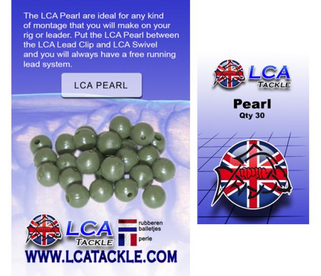 Гумени буфери LCA Pearl green, 30 броя, зелени | www.CARPMOJO.com
