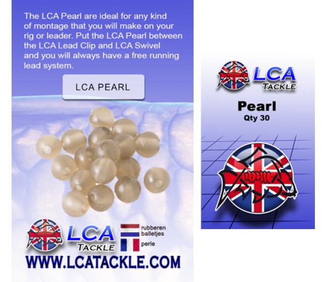 Гумени буфери LCA Pearl transparent brown, 30 броя | www.CARPMOJO.com