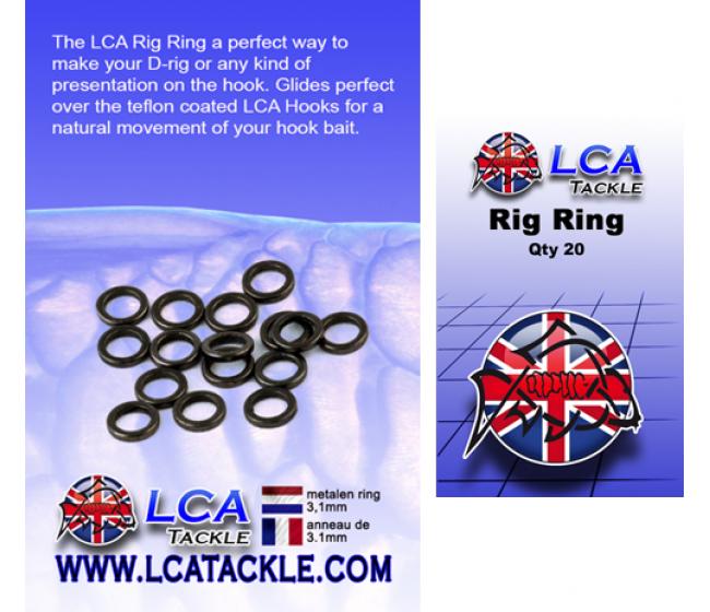 Халкички LCA Rig Ring, 20 броя   www.CARPMOJO.com