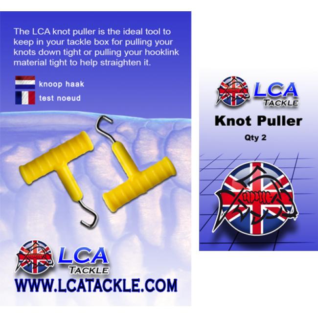 Инструмент за стягане на възли LCA Knot Puller, 2 броя в опаковка | www.CARPMOJO.com