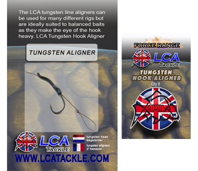 Тежък алайнер LCA Tungsten Line Aligners, 8 броя | www.CARPMOJO.com