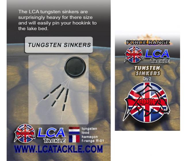 Волфрамови тежести LCA Tungsten Sinkers, 18 броя | www.CARPMOJO.com