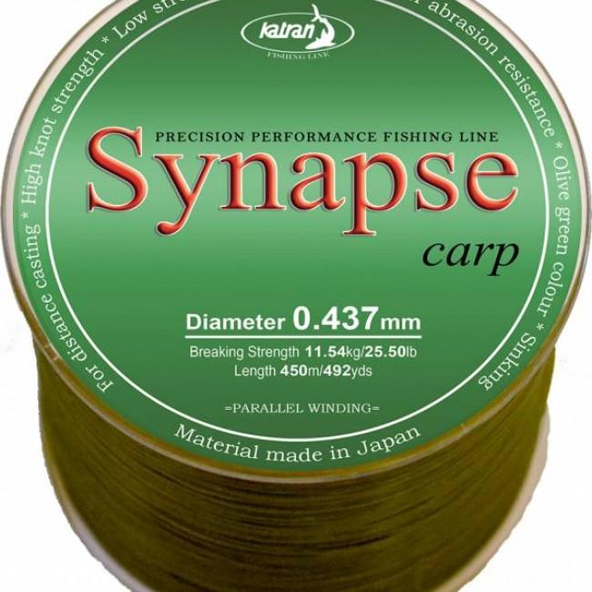 Монофилно основно влакно KATRAN SYNAPSE CARP | www.CARPMOJO.com