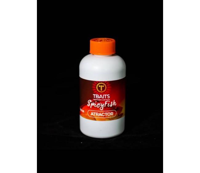 Атрактор T-BAITS Spicy fish, 200 ml | www.CARPMOJO.com