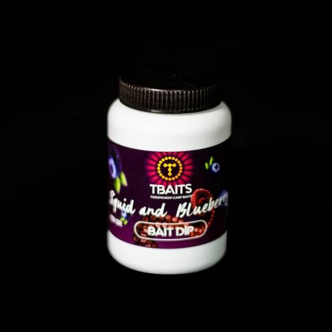 Дип T-BAITS Squid & Blueberry, 150 ml