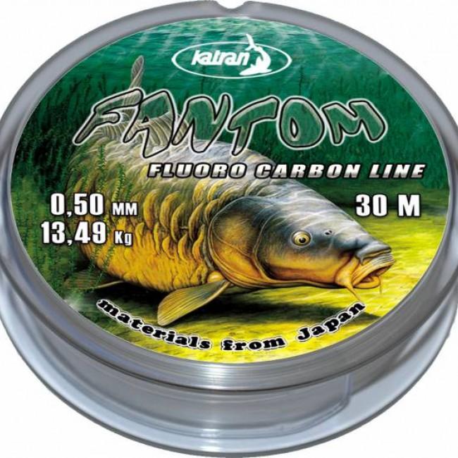 Флуорокарбон KATRAN FANTOM, 30 m   www.CARPMOJO.com