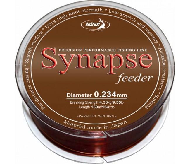 Монофилно основно влакно KATRAN SYNAPSE Feeder, 150 m | www.CARPMOJO.com