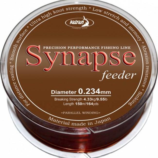 Монофилно основно влакно KATRAN SYNAPSE Feeder, 150 m   www.CARPMOJO.com