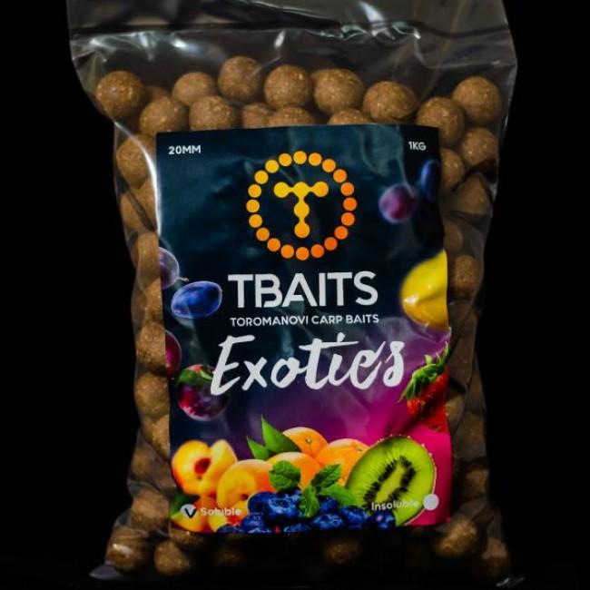 Протеинови топчета T-BAITS Exotics fruits, 20 mm | www.CARPMOJO.com