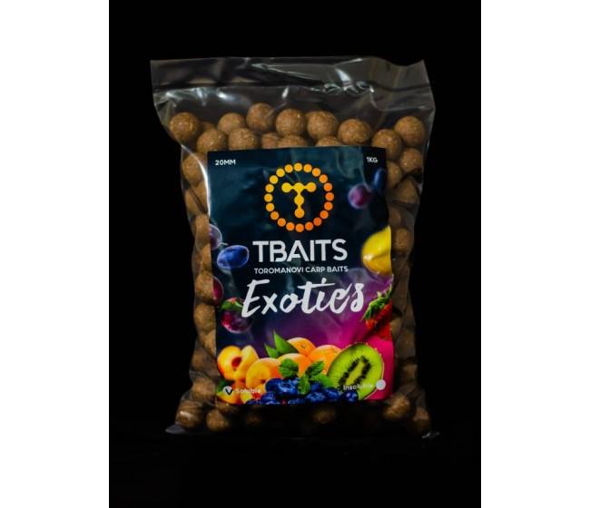 Протеинови топчета T-BAITS Exotics, 20 mm   www.CARPMOJO.com