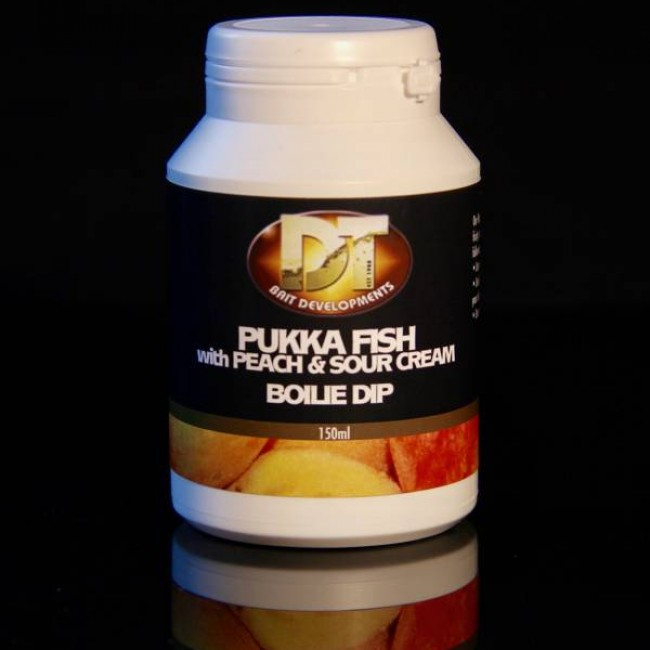 Дип DT BAIT Pukka Fish And Sour Cream, 150 ml | www.CARPMOJO.com