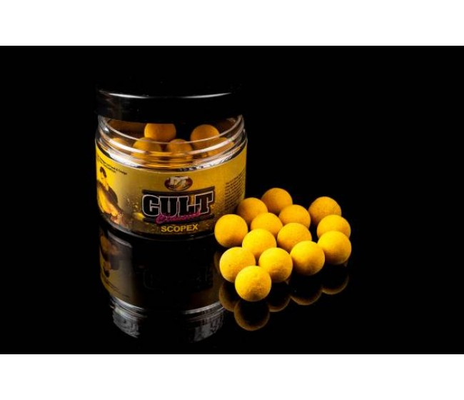 Плуващи топчета DT BAIT Cult Scopex Pop Up, 15 mm | www.CARPMOJO.com