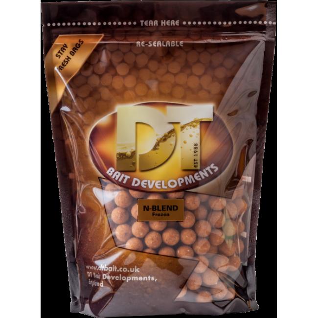 Протеинови топчета DT BAIT N-BLEND | www.CARPMOJO.com