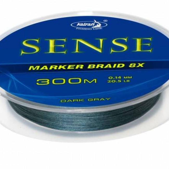 Плетено влакно за маркер Katran Sense, 300 m